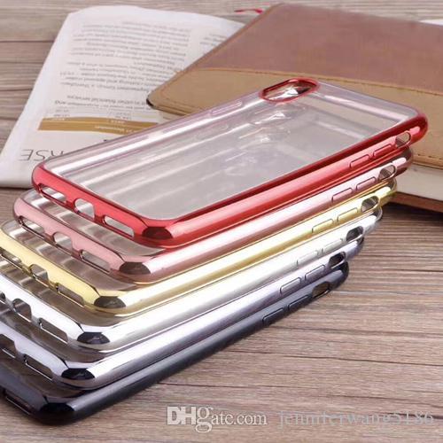Dhl versandkostenfrei neue heiße verkauf ultra dünne kristall transparenter handy case weiche tpu abdeckung für iphone xs max / xr / xs / x