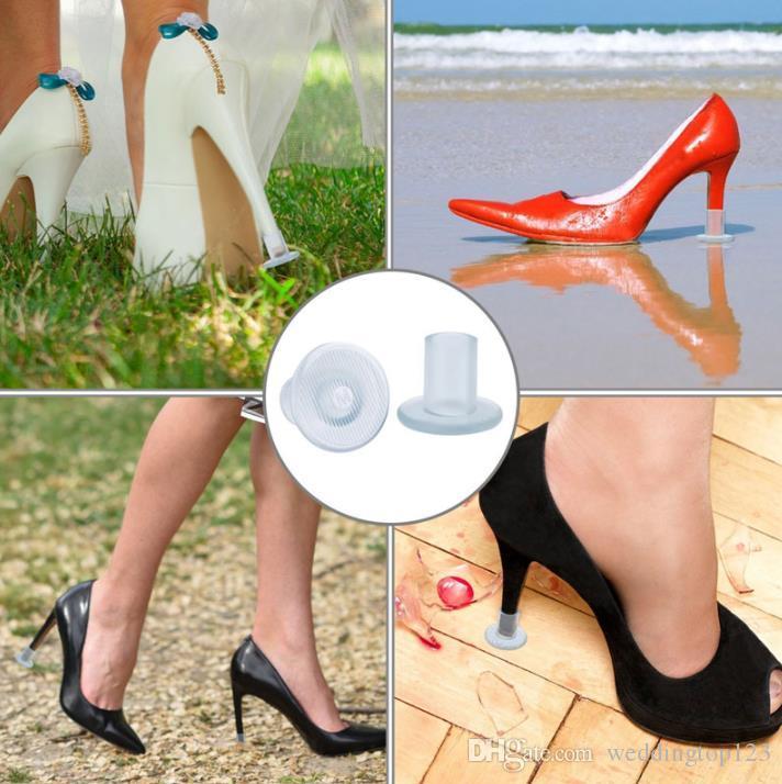 Matching bag Sweet Lady High Shoe heel protectors printing logo