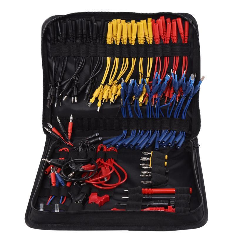 يؤدي إصلاح تشخيص السيارات أدوات المهنية مع حقيبة التخزين الخدمة الكهربائية متعددة الوظائف حلبة عملية اختبار سلك كيت