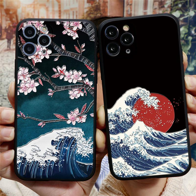 3D Emboss Mountain Silicone Phone Case For Coque IPhone 6 S 7 6S 8 ...