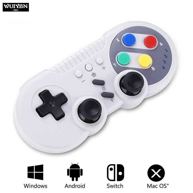 WUIYBN Bluetooth sem fio NS Mudar Controlador mini-jogo Joystick Para Nintendo Mudar Lite Game Machine PS3 PC T191227 Vapor