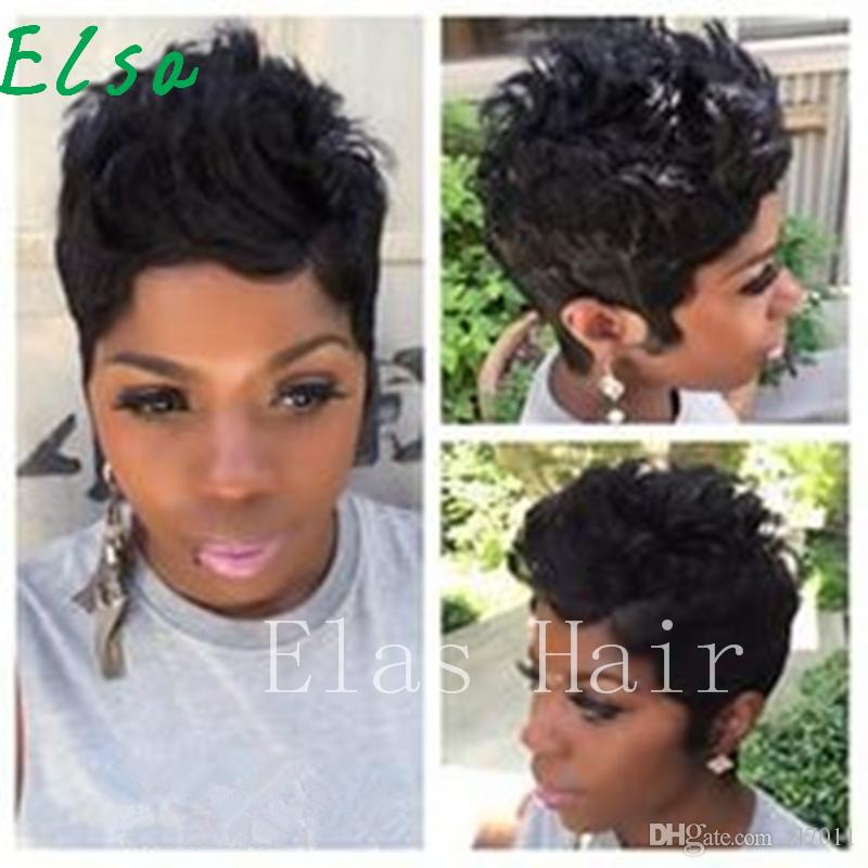 Human hair Short Wigs For Black Women African American Women Wigs Short Black Curly Hair Wigs For Black Women
