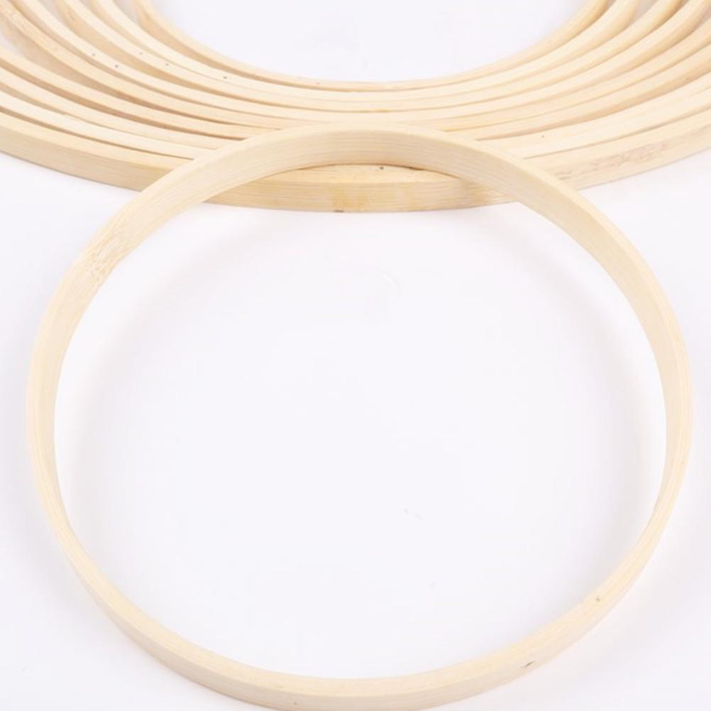 10 / 13.1 / 15 / 23.3 / / 29cm 26.2 Nakış Hoop Aracı Bambu Çember Yuvarlak DIY Art Craft Çapraz Dikiş Çin Dikiş Manuel Aracı