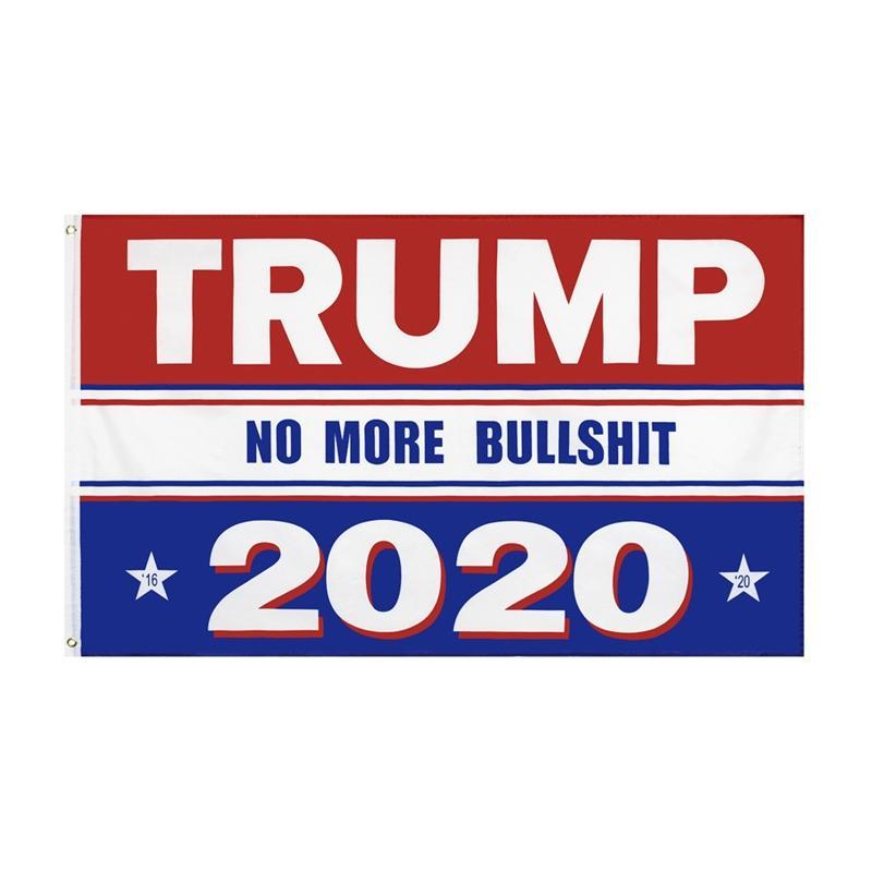 Высокое качество Donald Trump 2020 Поддержка Флаг Слоган Флаг Keep America Great флаги с латунными креплениями для президента Баннер 8 стилей M527F # 604
