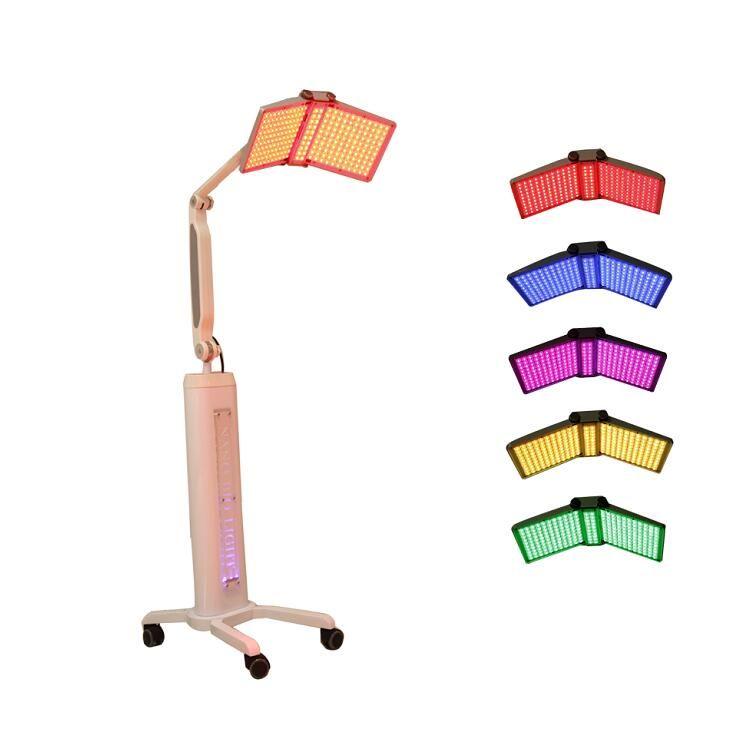 Traitement facial de l'acné de l'utilisation de salon de machine de l'utilisation de salon de machine du rajeunissement PDT de machine de beauté de thérapie de beauté de thérapie de la lumière LED de 7 couleurs