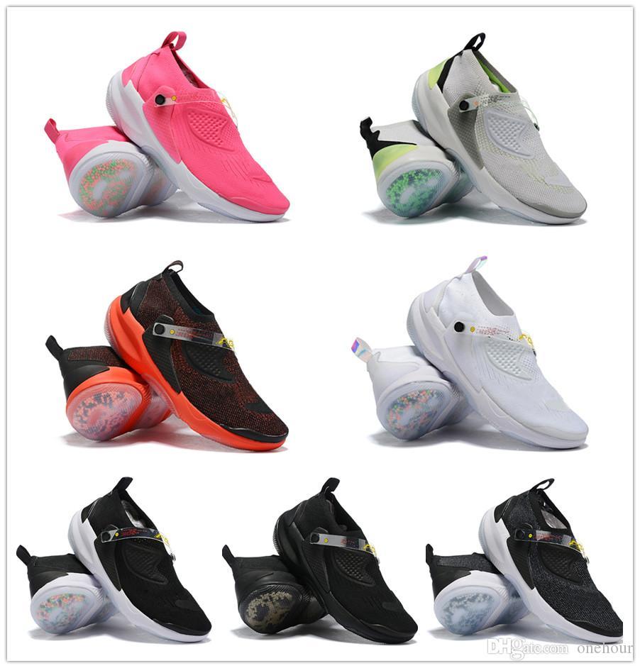Obj joyride cc3 яркий малиновый черный атмосфера серый лайм взрыв мужчина женщин баскетбольные туфли дешевые муха вязание мужские спортивные кроссовки