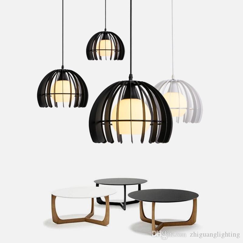 Sıcak satmak Kapalı dekoratif modern kolye lamba E27 nordic basit Demir lamba yemek odası bar sayacı kahve evi süslemeleri ticari aydınlatma