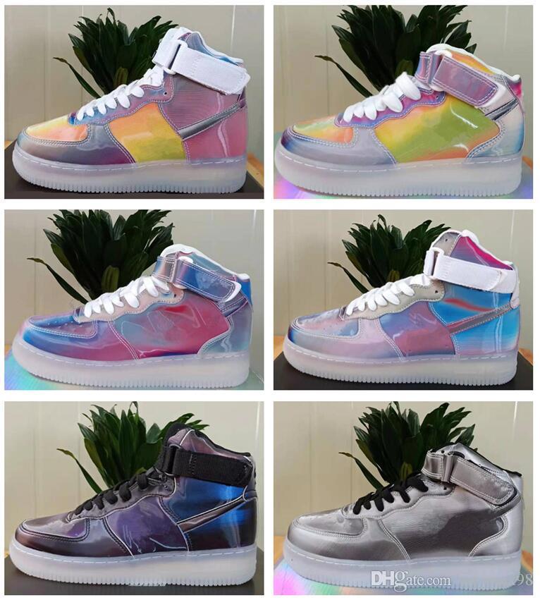 2019 Haute 1 OG TOP 3 Bannée Royal Royal Mid Lièvre Femmes Chaussures Pour Hommes Designer 1s Brisé Baskets formateurs Rouge Blanc Air Baskets
