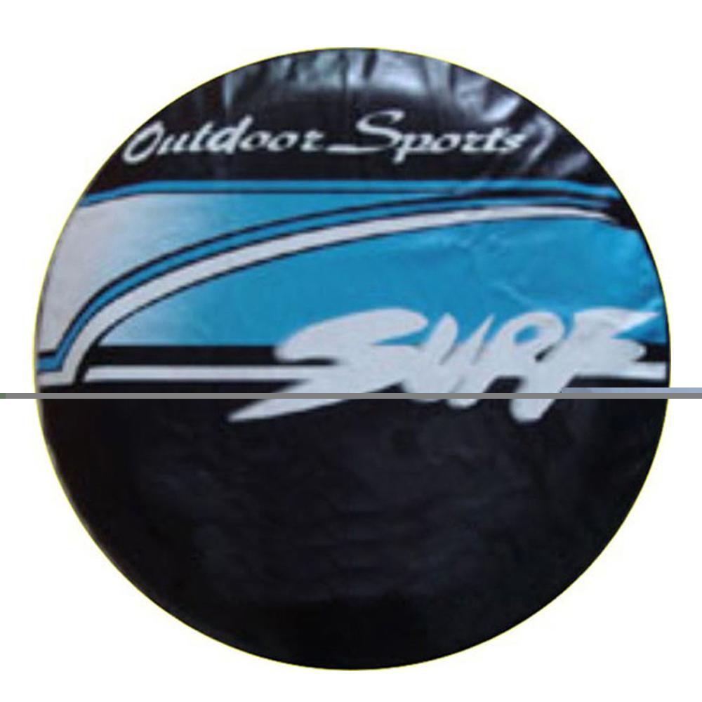 """14"""" 15"""" 16"""" 17"""" pouces robuste en PVC en cuir Roue de secours des pneus Cover Housse de protection Sac pour Hilux Surf"""