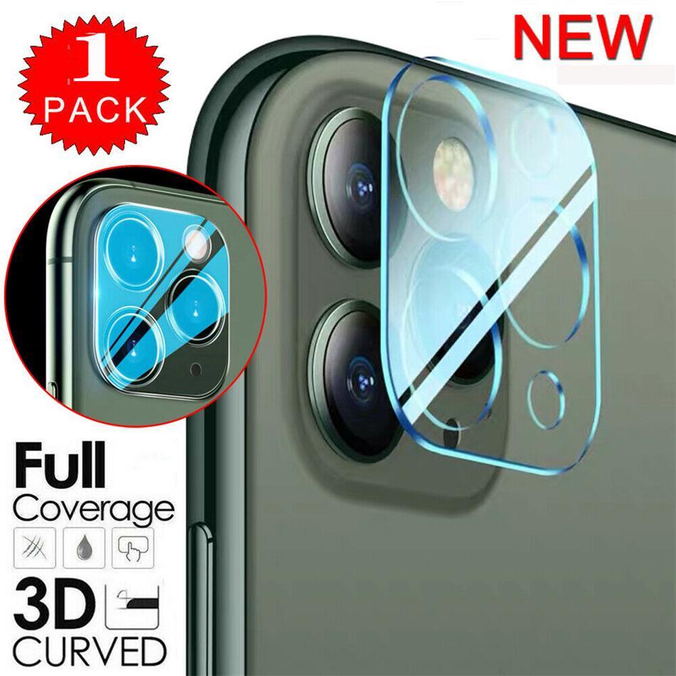 جديد واضح زجاج كاميرا واقية فيلم آيفون 12 برو ماكس غطاء كامل HD الزجاج المقسى عدسة عدسة الشاشة حامي الشاشة