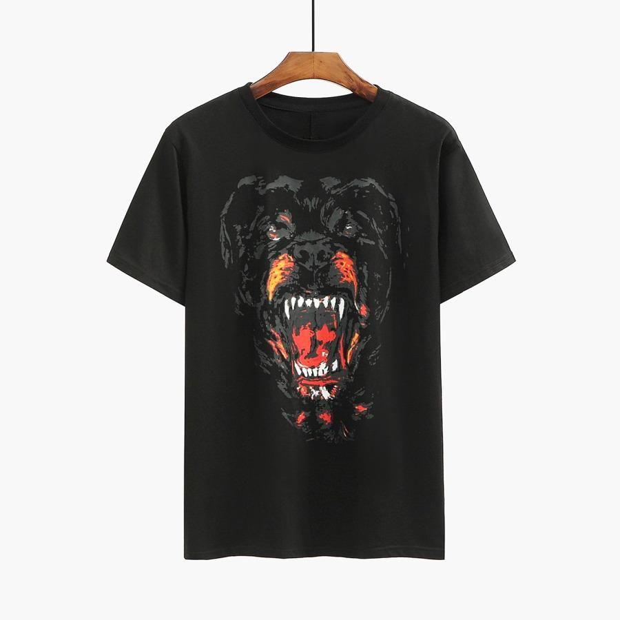 Luxury Mens Designer T Shirt Designer Casual Short Sleeves Fashion Animal Printing High Quality Men Women Hip Hop Tees