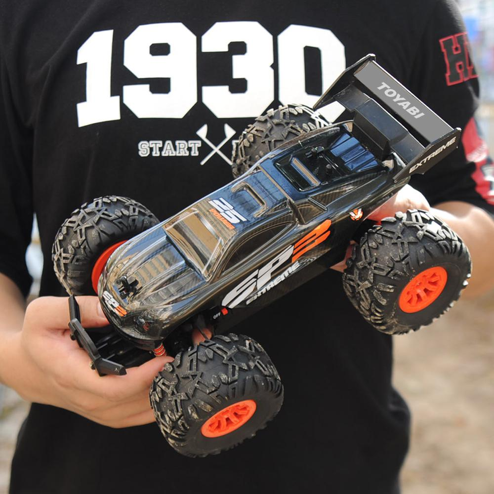 Rc Car 2 4g 1 18 Monster Truck Car Remote Control Toys Controller Model Off Road Vehicle Truck 15km H Radio Control Car Toy Cars T200115 Radio Remote Control Car Rc Car Remote Control From