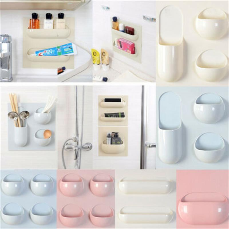2021 Bathroom Shelf Kitchen Utensil Rack Holder Useful Pantry Hook Wall Cabinet Hanging Storage Basket Organizer Spice Space Save New From Wangxiaofeng806 6 1 Dhgate Com