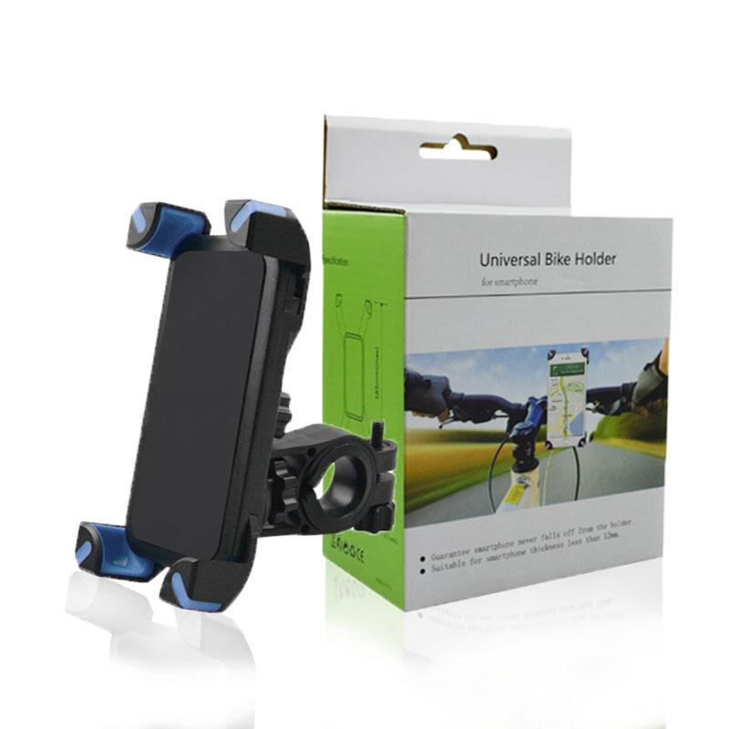 Bicicleta Phone Holder 360 graus de rotação do guiador Clipe suporte Suporte de Montagem Para iphone XS MAX XR X SmartPhone