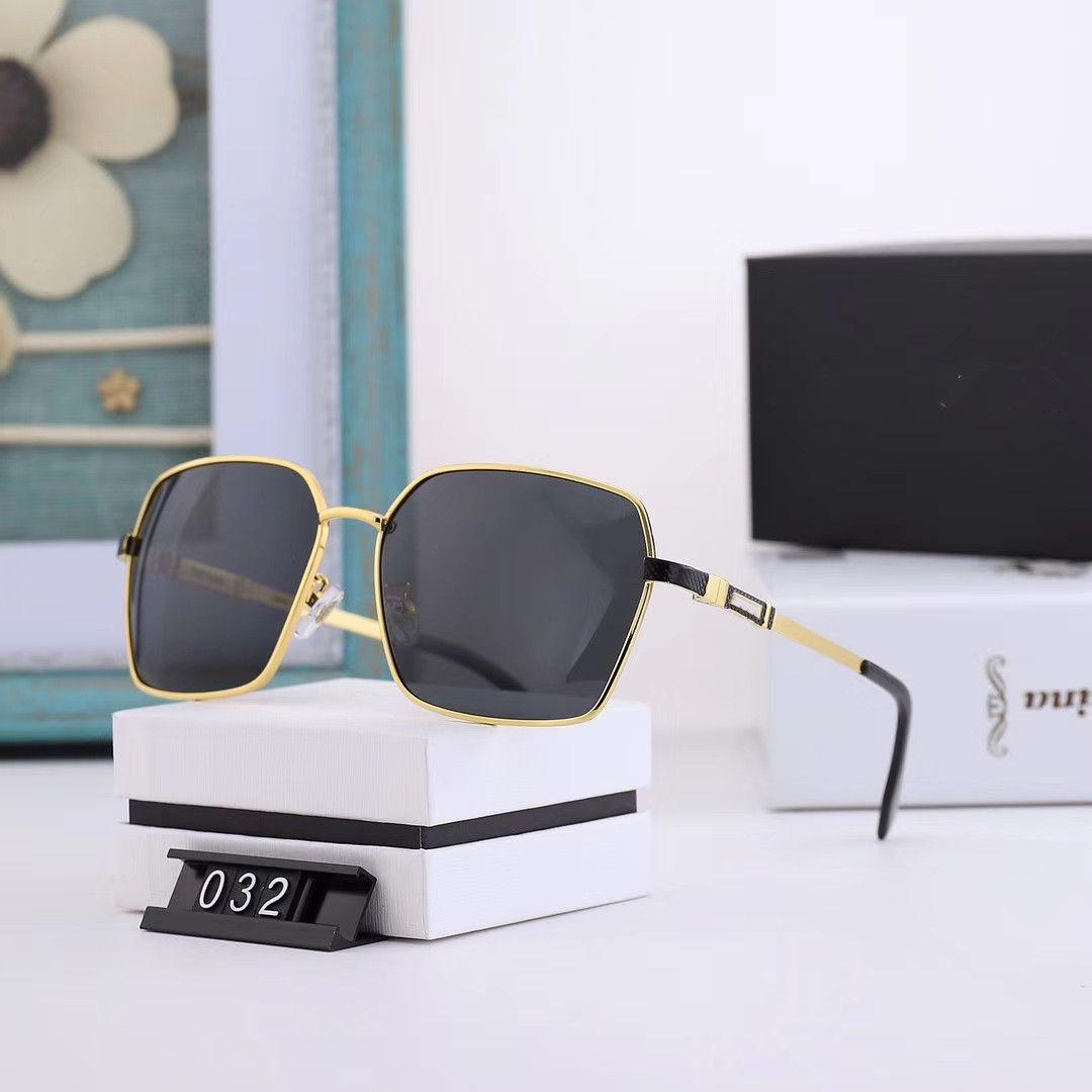Erkekler için yüksek kaliteli açık Sıcak Satış güneş blok güneş gözlüğü, klasik yuvarlak çerçeve aviator güneş gözlüğü 032