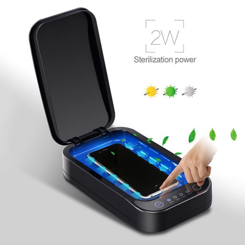Multi-funzione di sterilizzatore a raggi ultravioletti di disinfezione gabinetto asciugatrice tocco voce trasmessa disinfezione UV Sterlizer Box