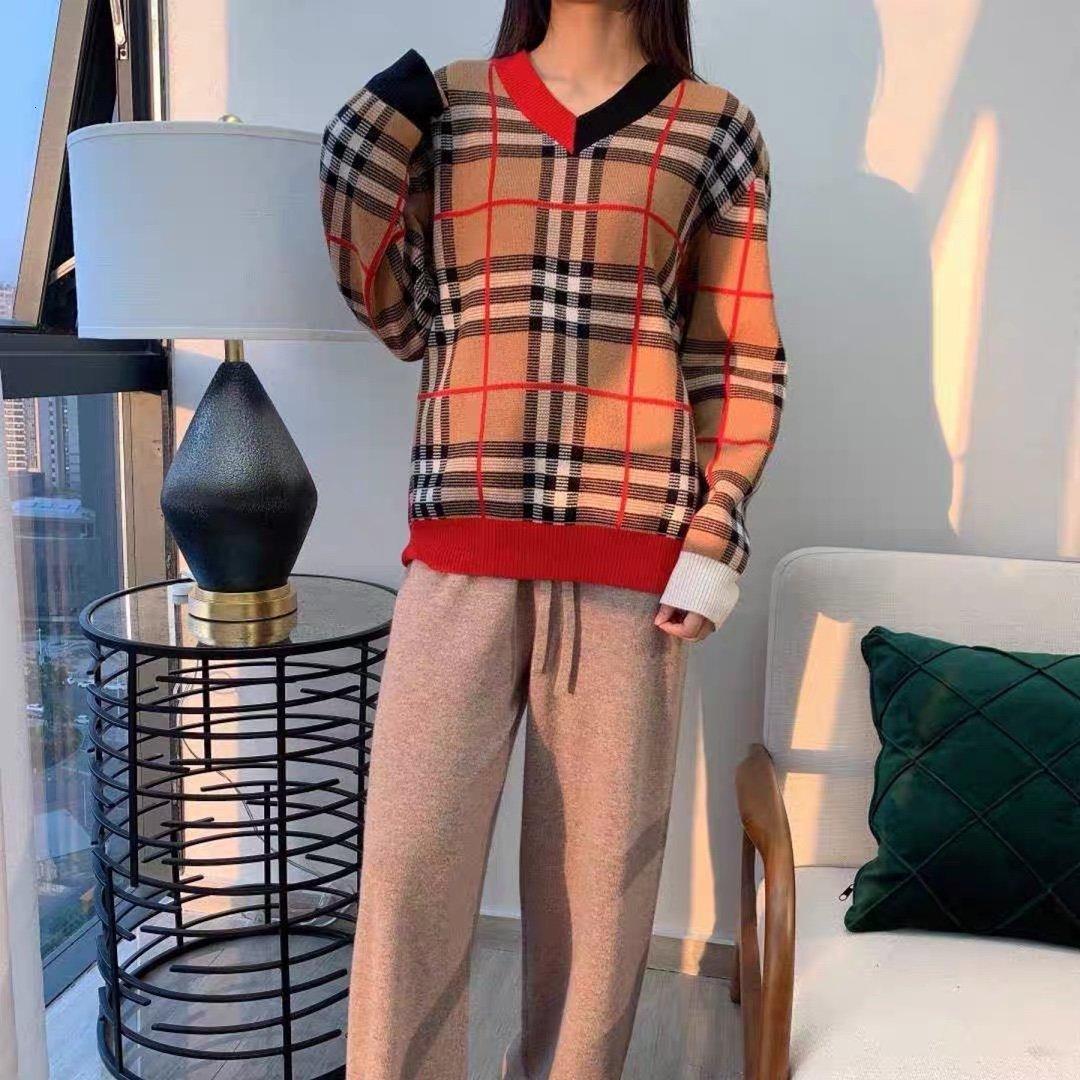 suéteres de las mujeres de alta calidad coo072020 manera de la caída jerséis de manga larga nueva PYWY estilo casual y sencillo