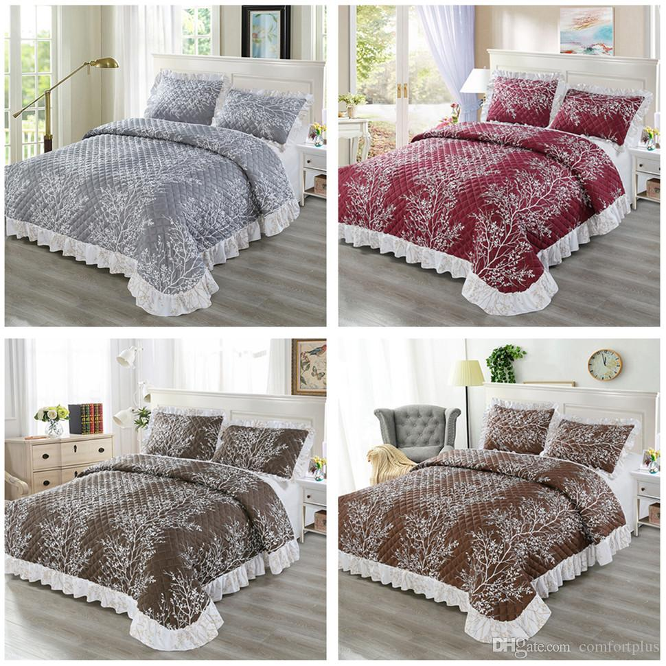 NEW TOP QUALITY POLYCOTTON SUMMER PRINTED DUVET QUILT SET COVER DOUBLE KING SIZE