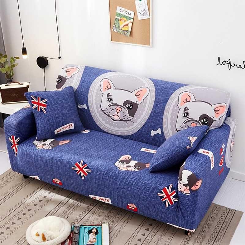Salon Dilimli Couch Kapak Mobilya koruyanım Bitkiler Spandex Koltuk Kapak Elastik slipcovers Herşey Polyester