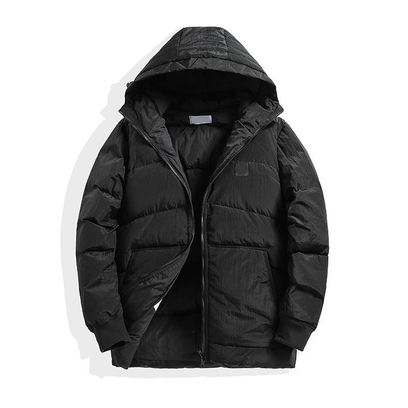 جديد نمط الأسود البخاخ سترة الشتاء جديد رجل دمية معطف أسفل سترة أزياء العلامة التجارية عالية الجودة الشتاء الأبيض أوزة أسفل سترة ساخنة