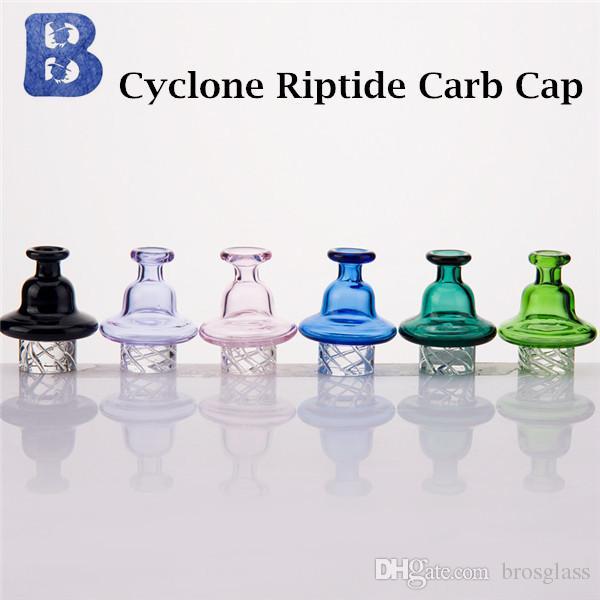 Cappuccio di Carb direzionale per turbina scientifica Riptide per bomba al quarzo Tappo di carbonio per filatura di vetro con ripiano di ciclone Beracky OD 32mm.