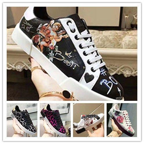 mujer Nueva buena calidad High Top Zapatos Arena plana superior del diseñador del nuevo diseñador de zapatos casuales Chaussures Aire libre 1G6