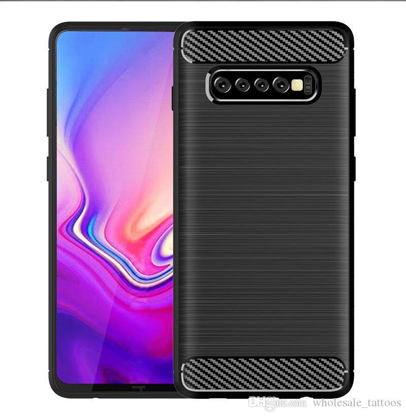 1.5 мм карбоновый чехол для iPhone X Xr XS Макс 6 6S 7 8 Plus 5 5S SE Samsung S9 Plus S8 S7 край S6 Матовый силиконовый мягкий резиновый чехол