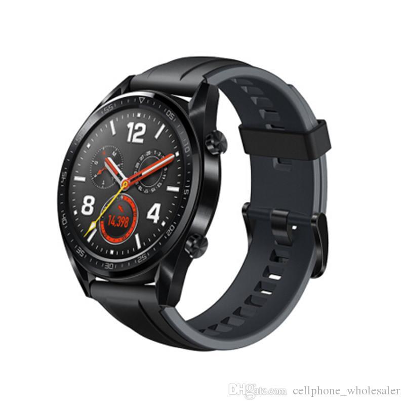 Original huawei watch gt smart watch unterstützung gps nfc pulsmesser 5 atm wasserdichte armbanduhr sport tracker uhr für android iphone
