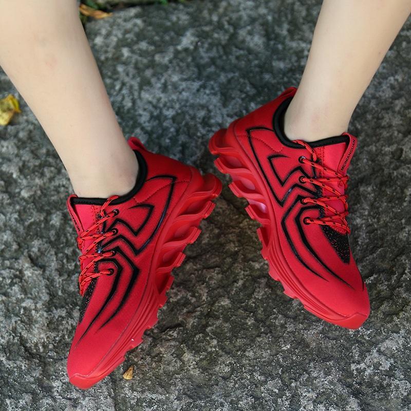Nouveau couple maille chaussures de sport quatre saisons modèle de grande taille chaussures marée casual chaussures pour hommes en plein air respirant et confortable