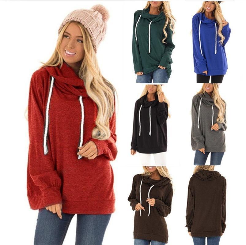 Европа и Соединенные Штаты осенью и зимой новые модели женских толстовки с капюшоном свитер взрыва