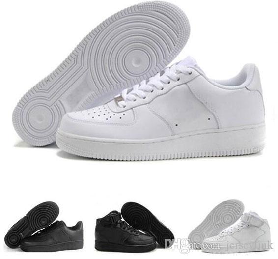 Discount Sport und Outdoor-Schuhe Männer Frauen Flyline Laufschuhe, Sportskate Ones Schuhe High Low Cut Weiß Schwarz Turnschuhe Turnschuhe