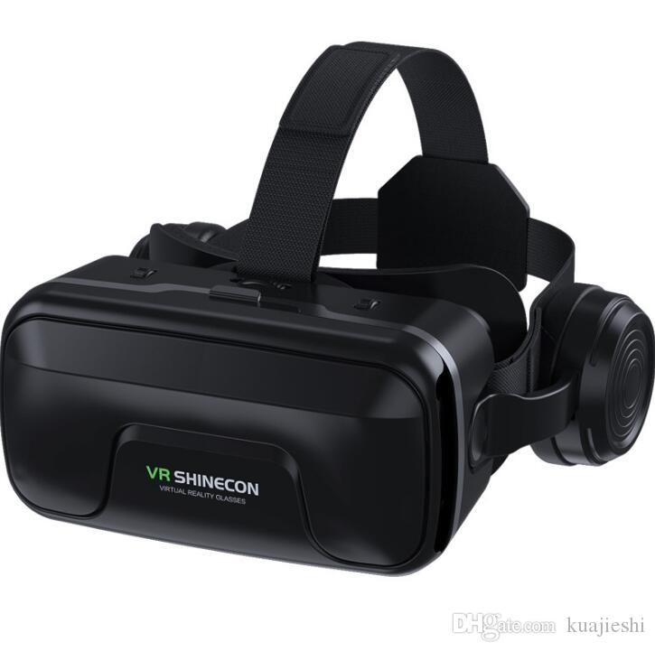 Occhiali VR realtà virtuale cellulare specchio 3D Materiale di intrattenimento sociale fotocamera in plastica telefono viene fornito con funzionalità aggiuntive