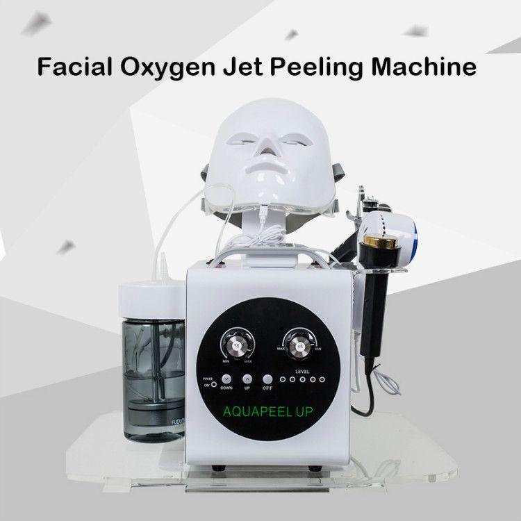 اللوازم الطبية تقشير الجلد الرطب آلة الأكسجين حقن الجمال الأجهزة صالون ل moisturizin الرؤوس السوداء إزالة الجلد
