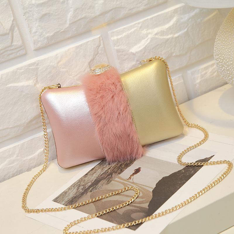 Sacchetto del pranzo della perla della frizione sera spalla di 2020 nuova delle donne Messenger