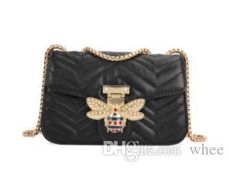 Mujeres Little Bee bolso de la moda de hadas Magneti bolsos de lujo del diseñador bolsos de hombro informal bolsa de mensajero del bolso cruzado cuerpo 147