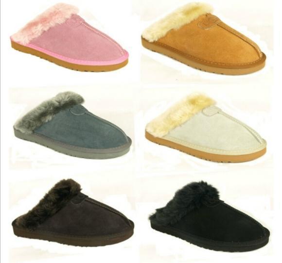 Haute qualité pantoufles en coton chaud hommes et pantoufles femmes courtes bottes de femmes bottes de neige Designer pantoufles en coton intérieur botte en cuir