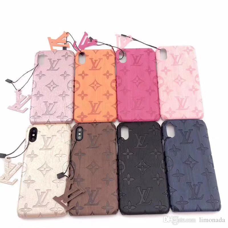 Marque de mode Téléphone cas pour Iphone 11 Pro Max X XS XR Xs Max 7/8 7/8 plus Phone Case Top qualité Cover Designer Case A09