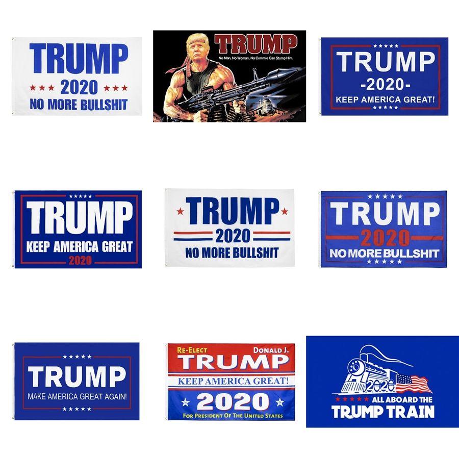 Forniture Banner Trump bandiera dell'America Anche in questo caso per il presidente Usa Donald Trump 2020 Banner Elezione Bandiera Decor Bandiere 90 * Partito 150cm calda della fabbrica # 764
