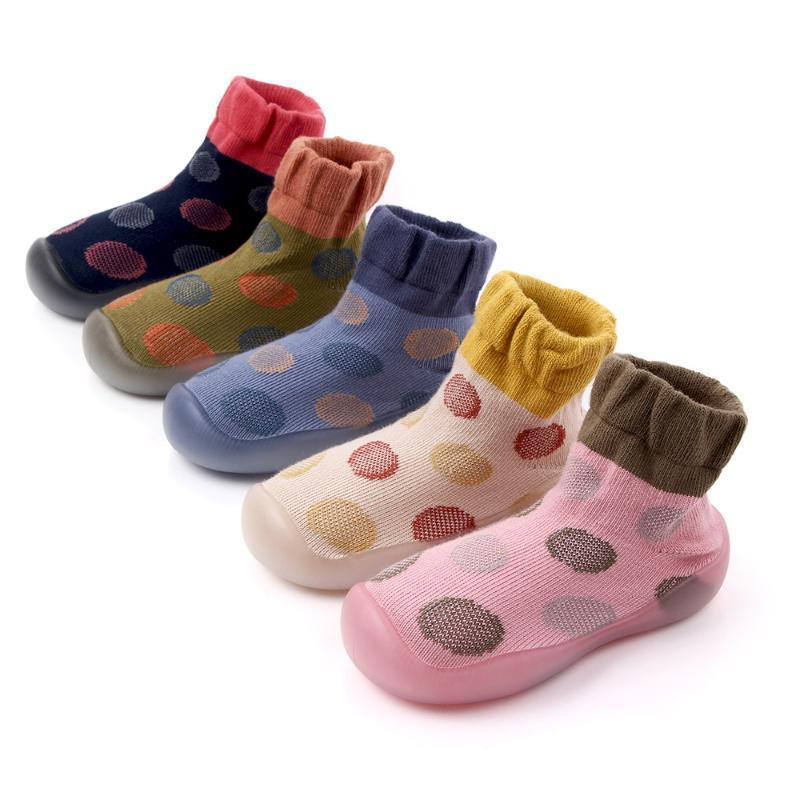 Zapatos infantiles muchachas del acoplamiento ocasional zapatos inferiores suaves cómodo antideslizantes