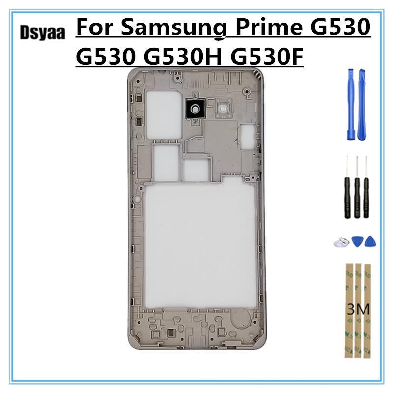 5 Zoll für Samsung für Galaxy Grand Prime G530 G530 G530H G530F Rahmen hinten Chassisplatte Gehäuse