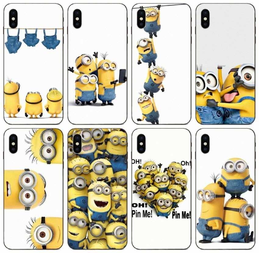 TongTrade Painted Gru Minions Army Case For Apple IPhone 12 11 Pro ...