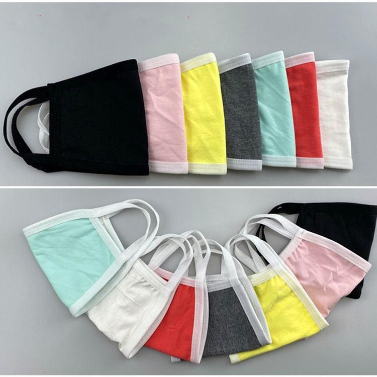7 Farben des Herbstes und des Winters reine Farbe Masken Anti Dunst Staubmaske Housekeeping Designer Maske T2I5941