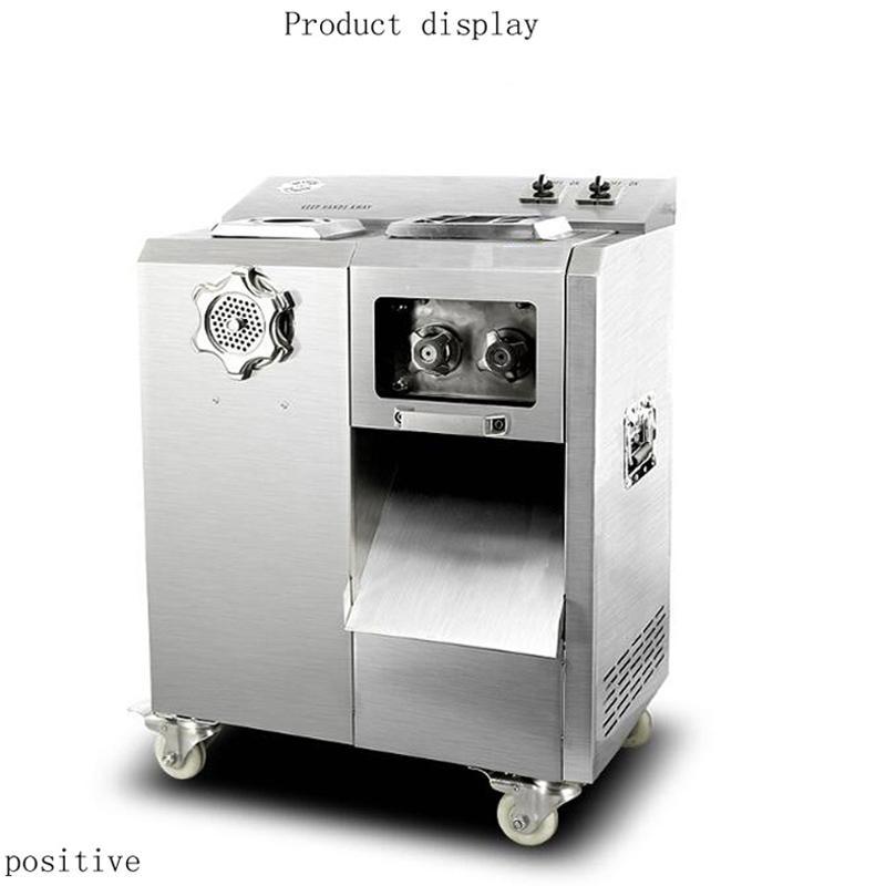 çok fonksiyonlu et kesme makinesi, otomatik çıkarılabilir bıçak grup eti kesici makine dilimleyici 220V Büyük Mutfak et dilimleme makinesi makinası