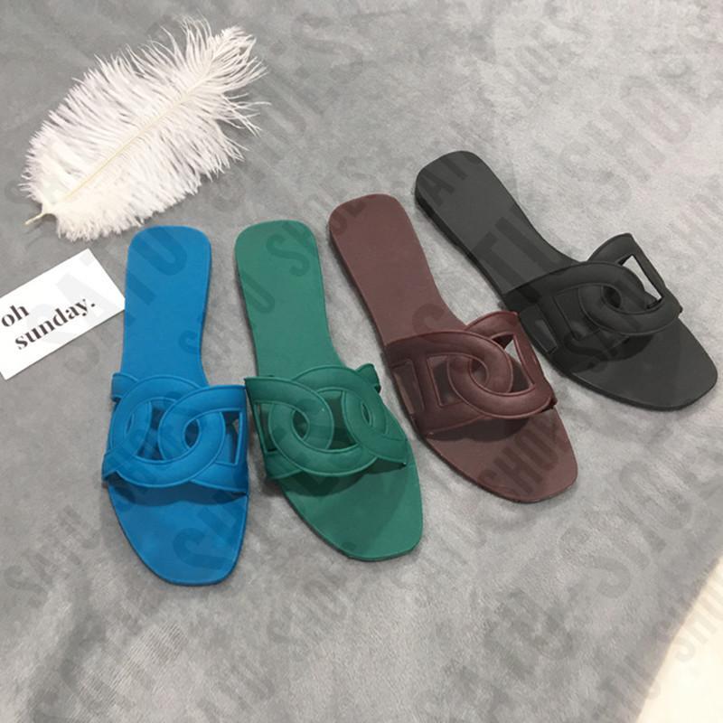 Оптовые сандалии женщин тапочки Кристалл желе цвет сексуальный клуб сплошной цвет износостойкой на открытом воздухе праздник Пляжная плоские туфли стильные 0080