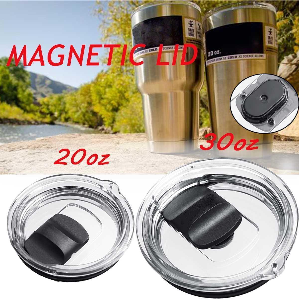 Für 20 Unzen 30 Unzen-Becher-Schalen-Kappe Tumbler MagSlider Lid Splash Spillsproof Locking Magnetic Slider pillsproof