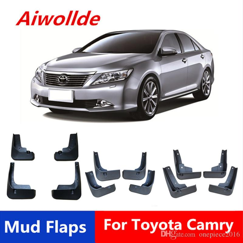 Set of 4 Mudflaps Splash Guards Fenders For Toyota Camry 2018 Excluding Sport