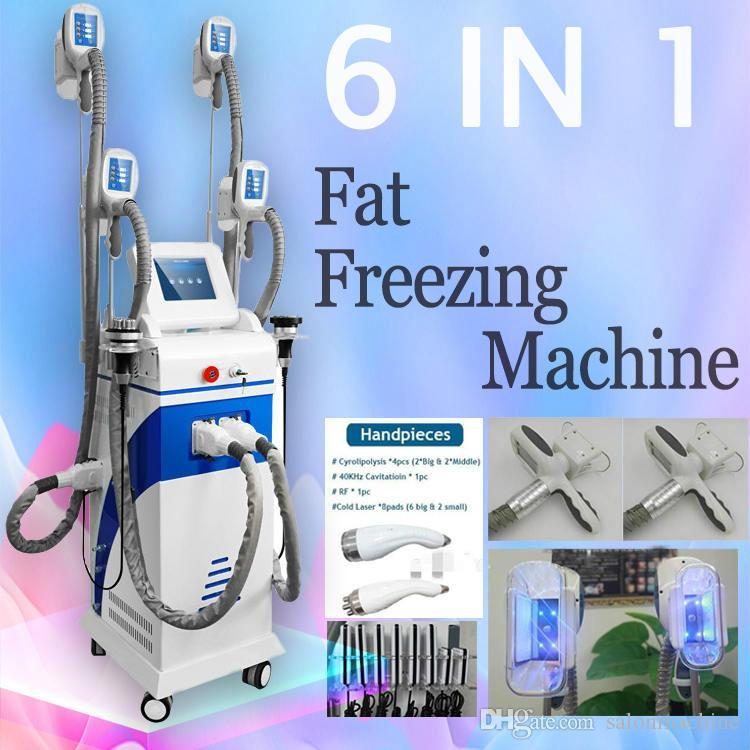 Top qualità Portatile Cryolipolysis grasso congelamento dimagrante macchina crioterapia ultrasuoni RF liposuzione Lipo macchina laser Buona perfomance