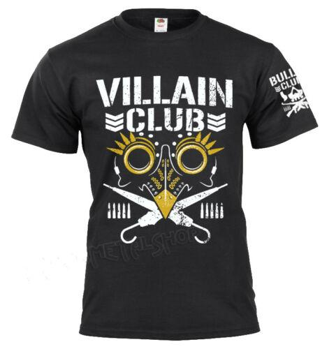 Bullet Club Pro Wrestling Mens T Shirt Available S-XXL In Variety Of Colours