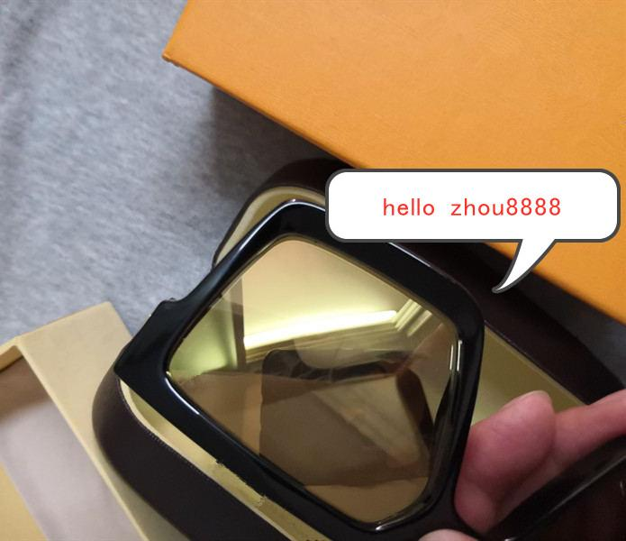 Luxury MILLIONAIRE M96006WN Sunglasses1165 full frame Vintage designer sunglasses for men Shiny Gold Logo Hot sell Gold plated Top L96006
