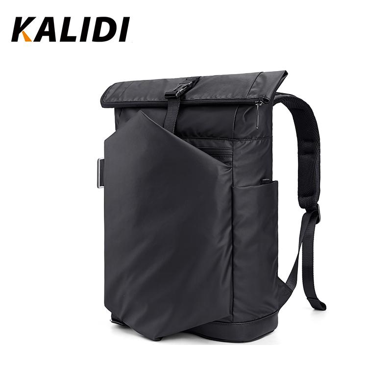 KALIDI Voyage hommes Sacs à dos pour ordinateur portable grande capacité imperméable Sac à dos 15,6 pouces mochila multifonctionnel anti vol Sac à dos